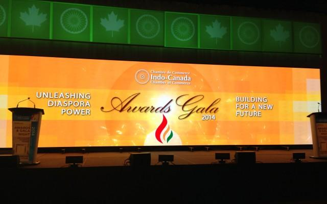2014 ICCC Awards Gala: Indo Canadian Chamber of Commerce