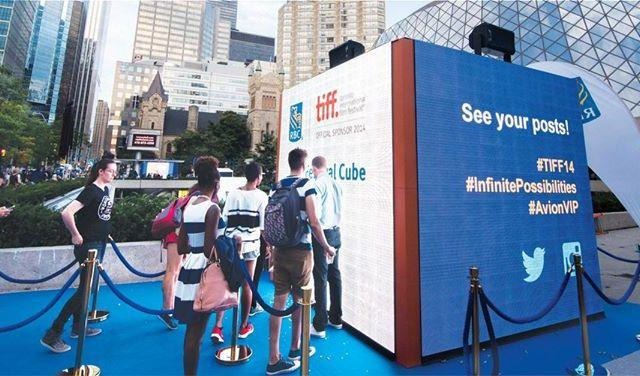 RBC Festival Cube at the Toronto International Film Festival