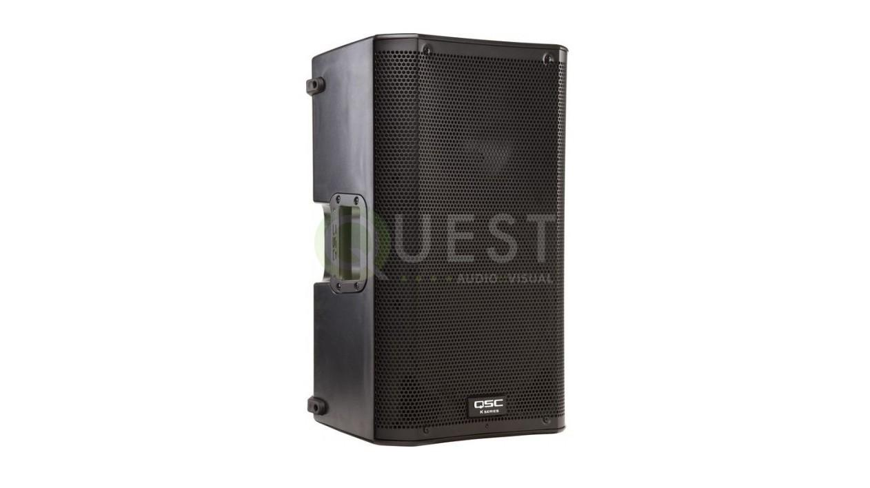 QSC K12 Active Loudspeaker available for rent in Toronto with Quest Audio Visual