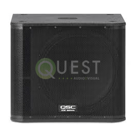 QSC KW181 Subwoofer available for rent in Toronto with Quest Audio Visual