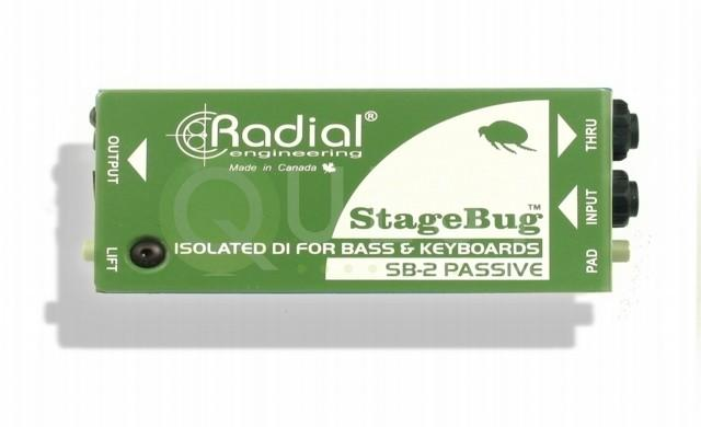 Passive DI Stagebug sb-2 available for rent in Toronto with Quest Audio Visual