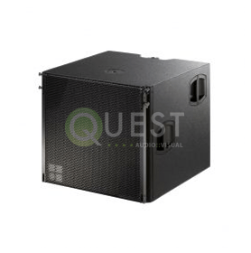 d&b V-Sub Subwoofer available for rent in Toronto with Quest Audio Visual