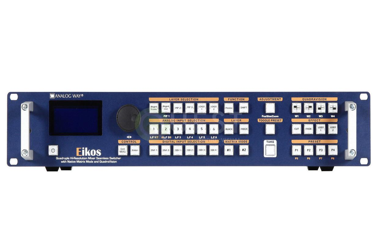 Analog Way Eikos Video Switcher available for rent in Toronto with Quest Audio Visual