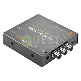 Blackmagic HDMI to SDI 6G Mini Converter available for rent in Toronto with Quest Audio Visual