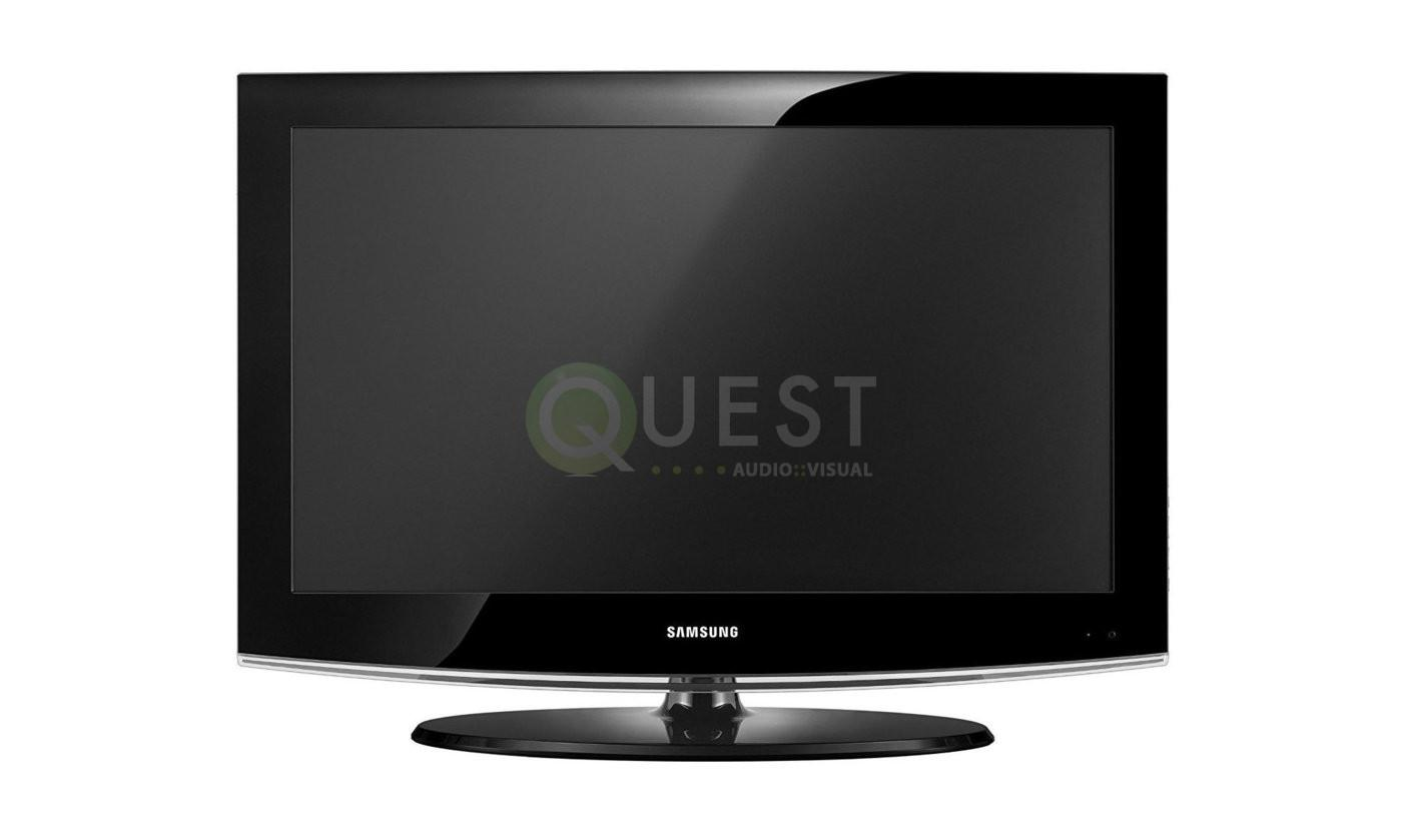 Samsung 32LD403 32″ LCD TV available for rent in Toronto with Quest Audio Visual