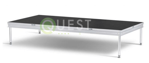 4′ X 8′ Stage Decks available for rent in Toronto with Quest Audio Visual