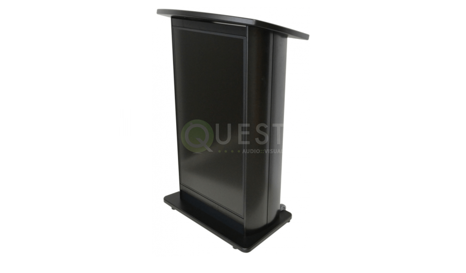 H2W Digital Display Podium available for rent in Toronto with Quest Audio Visual