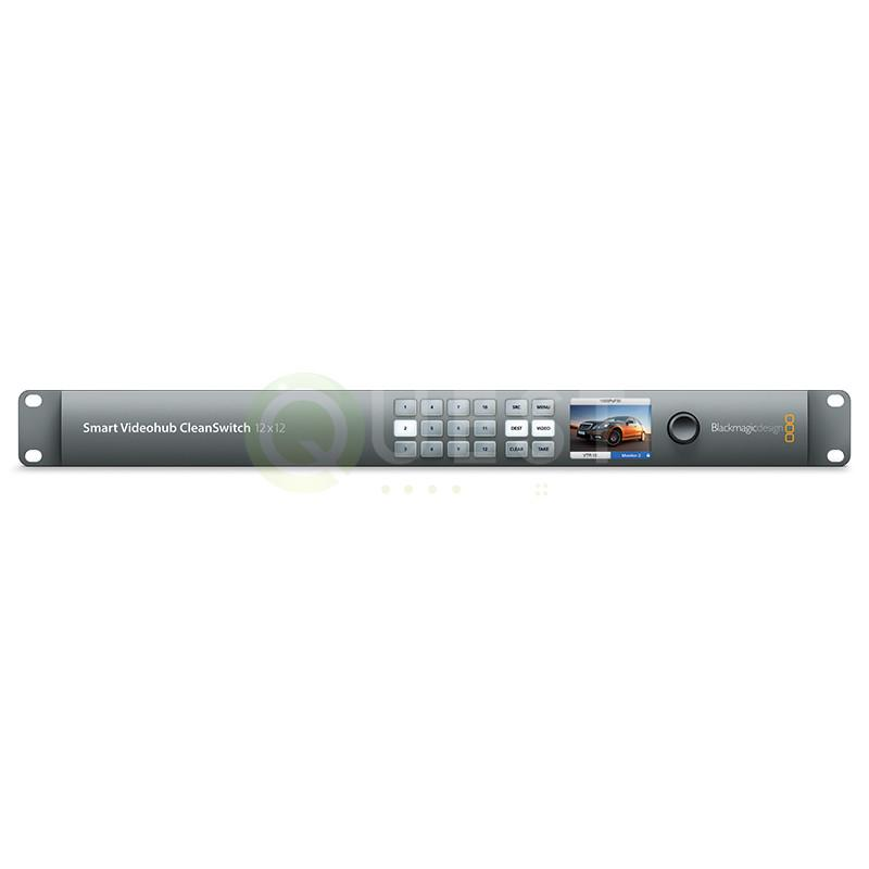 Blackmagic 12×12 Videohub available for rent in Toronto with Quest Audio Visual