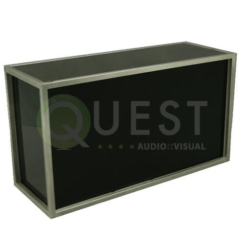 Plexi DJ Booth (White and Black) available for rent in Toronto with Quest Audio Visual