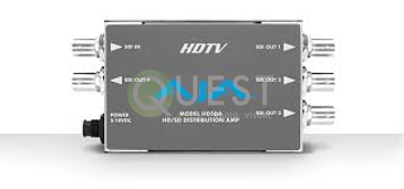 AJA HD5DA – HD-SDI/SDI Distribution Amplifier available for rent in Toronto with Quest Audio Visual
