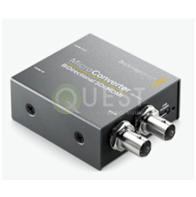 Blackmagic SDI to HDMI Micro Converter (BiDirectional) available for rent in Toronto with Quest Audio Visual