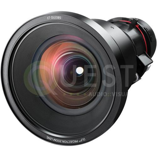 Panasonic ET-DLE085 Power Zoom Lens | 0.8-1.0 available for rent in Toronto with Quest Audio Visual