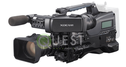 Sony PMW-320K XDCAM EX HD Camcorder available for rent in Toronto with Quest Audio Visual