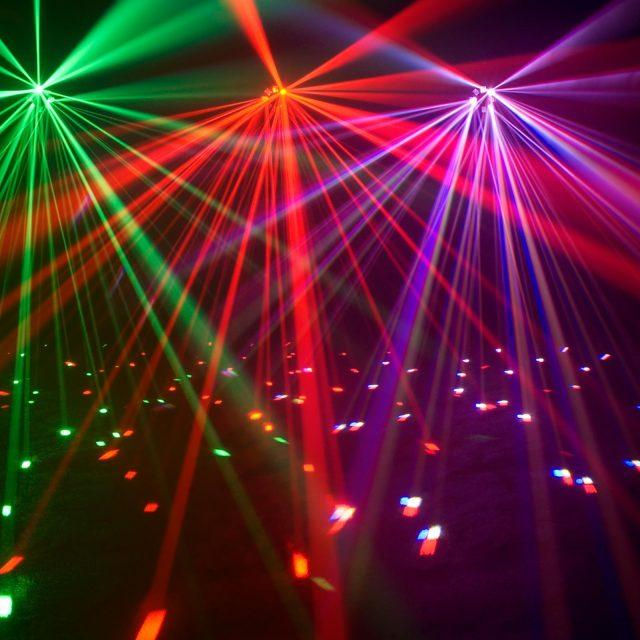 ADJ Quad Phase HP Effect Light available for rent in Toronto with Quest Audio Visual