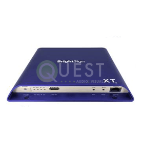 BrightSign XT244 Standard I/O Media Player available for rent in Toronto with Quest Audio Visual