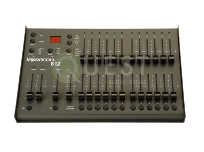 Leprecon LP612 12 CH Lighting Console available for rent in Toronto with Quest Audio Visual