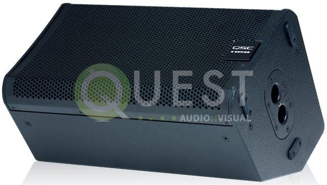 QSC E10 Passive Loudspeaker available for rent in Toronto with Quest Audio Visual