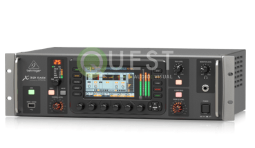 X32 RACK available for rent in Toronto with Quest Audio Visual