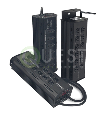 Leprecon ULD-360 Dimmer Pack available for rent in Toronto with Quest Audio Visual