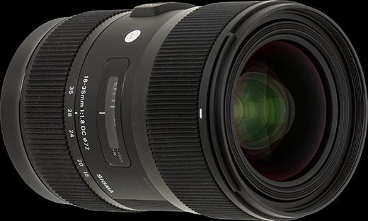 Sigma   18-35mm F1.8 Camera Lens available for rent in Toronto with Quest Audio Visual
